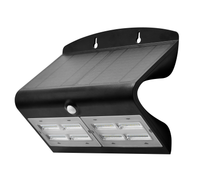 IN HOUSE LED LUMINAIRE SOLAIRE 740LM NOIR