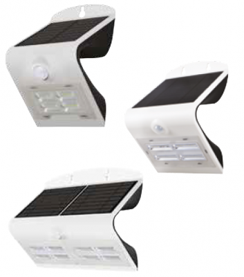 IN HOUSE LED LUMINAIRE SOLAIRE 390LM BLANC
